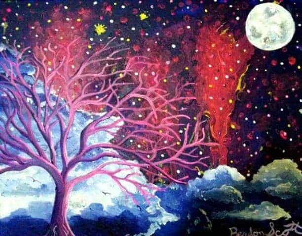 Dreamscape painting