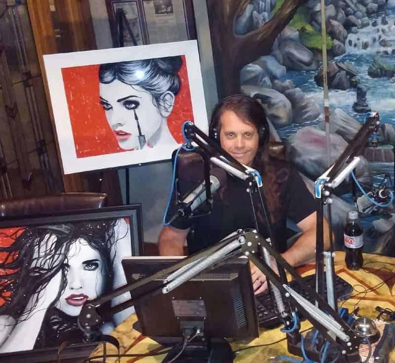 Brandon Scott on the air