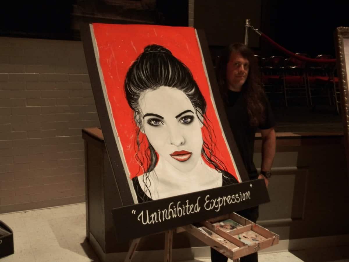 portrait art, Florida arts scene