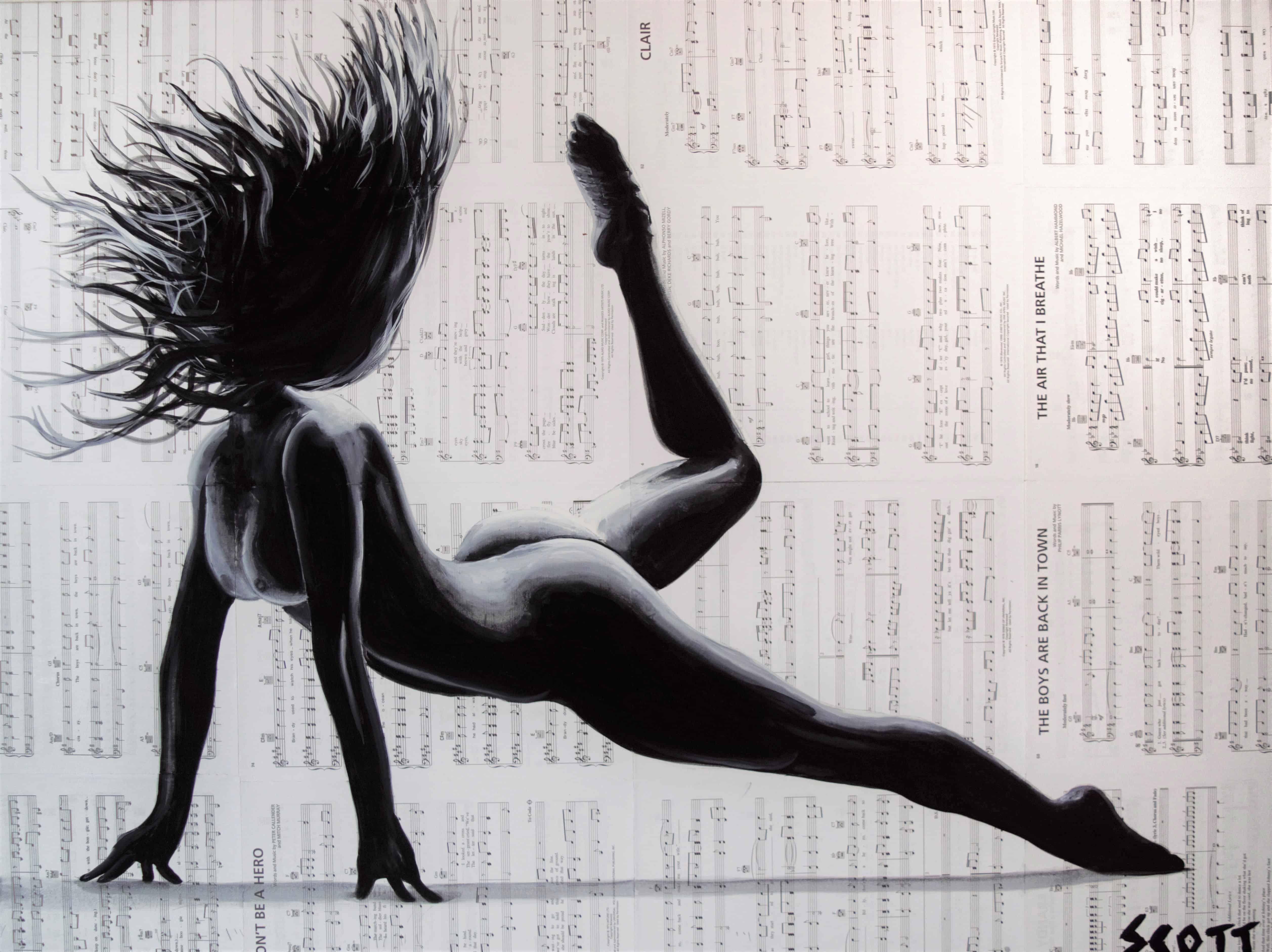 dance art by brandon scott